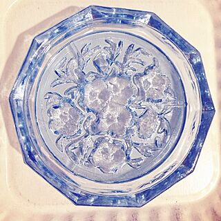 女性、ガラスのお皿に関するrukaさんの実例写真