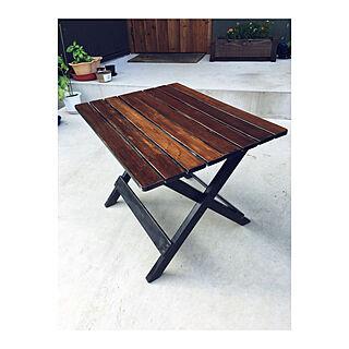 机/テーブル/DIY/ブラック/モルタル...などのインテリア実例 - 2018-05-15 21:03:55