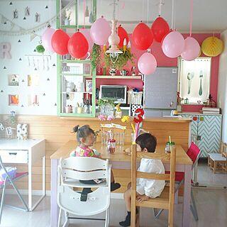部屋全体/カラフルな部屋/カラフル/こどもと暮らす。/IKEA...などのインテリア実例 - 2015-10-15 08:06:24