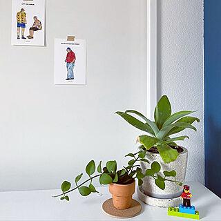 LEGO/ポストカード/ダルトン/アガベアテナータ/グリーンのある暮らし...などのインテリア実例 - 2020-07-27 21:41:20