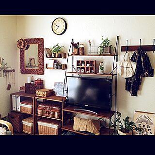 リビング/男前も可愛いも好き/DIY/リメイク棚/模様替えのインテリア実例 - 2015-02-03 17:32:38