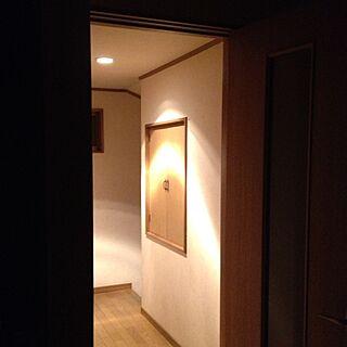 ベッド周り/照明/おやすみ/収納扉/廊下のインテリア実例 - 2013-05-20 09:52:05