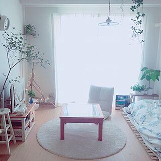 女性37歳の一人暮らし1K、DIY マリンテイストに関するsakiyukaさんの実例写真
