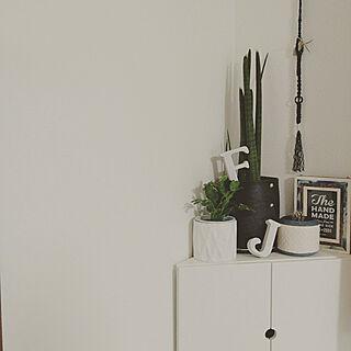 リビング/角/壁/IKEA/観葉植物のある部屋...などのインテリア実例 - 2017-09-17 16:37:31