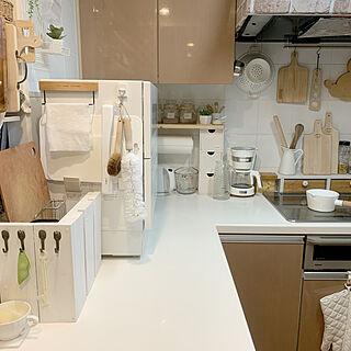 女性家族暮らし3LDK、食洗機に関するISM.mumさんの実例写真