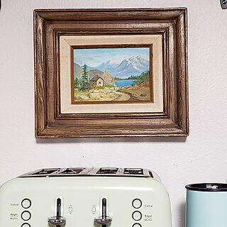 壁/天井/Toaster/smoothie/painting /ART...などのインテリア実例 - 2021-07-04 13:48:21