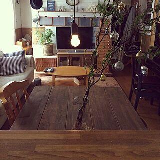 、テーブル天板DIYに関するさんの実例写真
