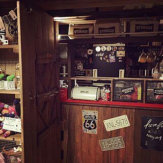 キッチン/賃貸DIY/DIY/イベント参加中/棚も手づくり...などのインテリア実例 - 2016-12-02 21:01:11