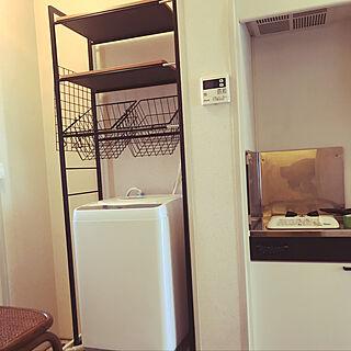 楽天roomに載せてます/洗濯機/洗濯機ラック/ランドリーラック/8畳...などのインテリア実例 - 2019-05-03 00:08:29