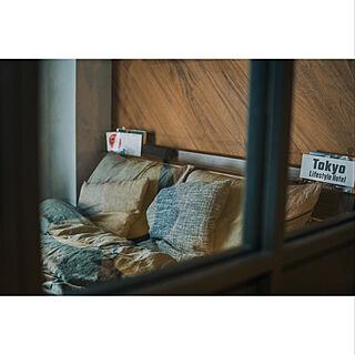 ホテルライク/男一人暮らし/ホテルライクな暮らし/リノベーションマンション/一人暮らし...などのインテリア実例 - 2020-11-12 14:01:50