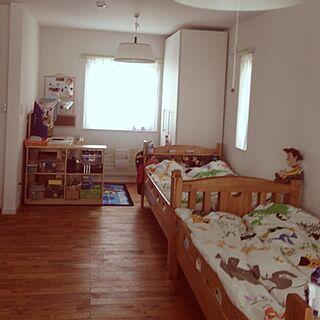 女性家族暮らし4LDK、kid's roomに関するmillomilloさんの実例写真