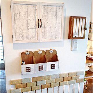 女性33歳の家族暮らし4LDK、標本箱に関するsatoreruさんの実例写真