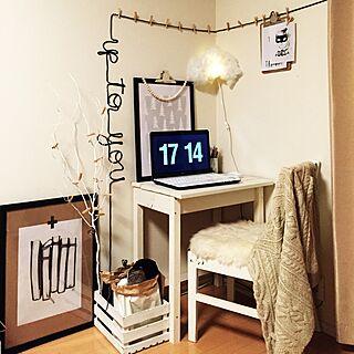 机/HAND MADE/賃貸/生活感/DIY...などのインテリア実例 - 2014-11-22 17:16:40