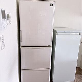 AQUA冷凍庫/AQUA/冷凍庫/冷蔵庫/モノトーン...などのインテリア実例 - 2021-08-09 19:40:40