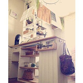 キッチン/DIY/完成ではない/キッチンカウンターのインテリア実例 - 2014-03-17 20:56:22