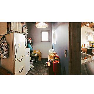 女性38歳の家族暮らし、アメリカン冷蔵庫に関するsnoopyさんの実例写真