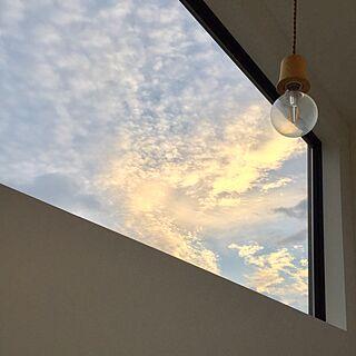 壁/天井/階段からの眺め/階段の窓/FIX窓/LED電球...などのインテリア実例 - 2016-10-04 09:44:04