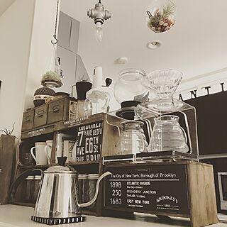 キッチン/coffee/コーヒー/3COINS/テラリウム...などのインテリア実例 - 2017-06-21 12:37:20