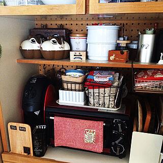 女性38歳の家族暮らし3LDK、トースターに関するshimoamさんの実例写真