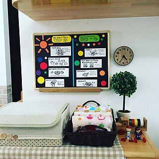 女性35歳の家族暮らし3LDK、保育園児に関するanko.hibuさんの実例写真