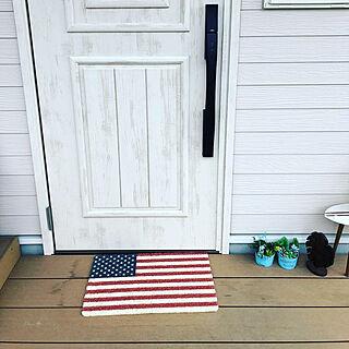 女性37歳の家族暮らし3LDK、ロンハーマン 西海岸に関するsackeyさんの実例写真