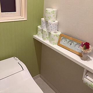 女性家族暮らし3LDK、手洗いに関するmikasa34さんの実例写真