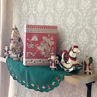女性家族暮らし4LDK、クリスマス雑貨に関するkuraさんの実例写真