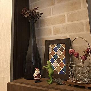 女性45歳の家族暮らし4LDK、カエルちゃんたちに関するgin_mamaさんの実例写真