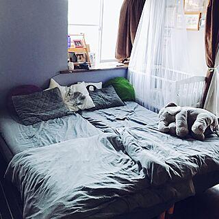 女性の、Other、の「ベッド周り」についてのインテリア実例