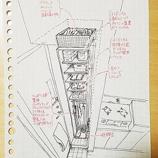 、スケッチに関するKazuiWakasugiさんの実例写真