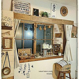 レンガ柄リメイクシートの人気の写真(RoomNo.2494011)