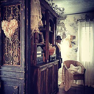 部屋全体/フレンチシック/フレンチシャビー/アトリエ/和室diy...などのインテリア実例 - 2016-02-18 11:21:17