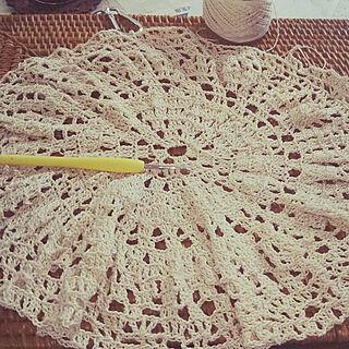 女性家族暮らし4LDK、編み図はありませんに関するusamamaさんの実例写真