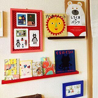 女性40歳の家族暮らし3LDK、キッチンくろねこに関するrukakoさんの実例写真