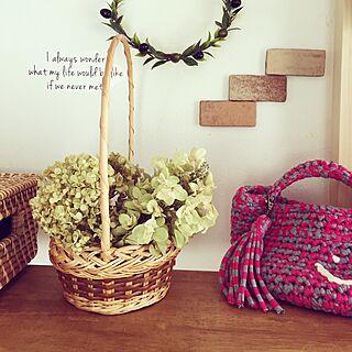 女性家族暮らし、柏葉紫陽花ドライに関するmiiko3さんの実例写真