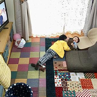 女性家族暮らし2LDK、いつもありがとうございます☆に関するchiiyanさんの実例写真