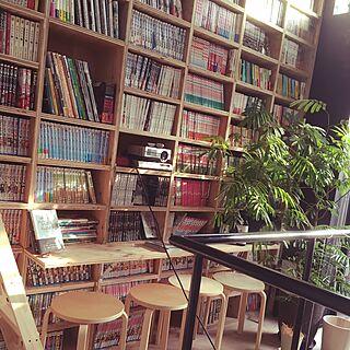 男性39歳の同棲、図書館に関するnaoさんの実例写真