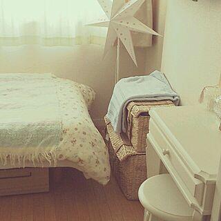 ベッド周り/ベッド 無印/ふとんカバー/一人暮らしのインテリア実例 - 2013-12-31 18:44:13