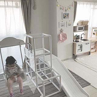 女性2LDK、Kitchen IKEAに関するkumaさんの実例写真