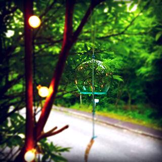 玄関/入り口/IKEA/ソーラーライト/梅雨時期/和雑貨...などのインテリア実例 - 2018-06-17 14:16:25