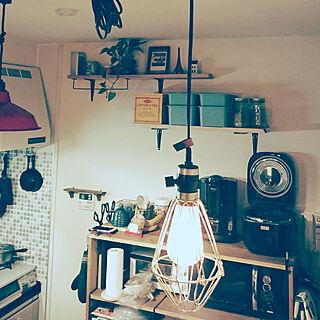 キッチン/レトロ/DIY/手作り/ハンドメイド...などのインテリア実例 - 2018-02-12 18:54:59