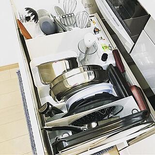女性34歳の家族暮らし4LDK、シンプル 整理収納に関するHaruKeiさんの実例写真