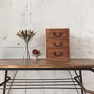男性36歳のその他4DK、鉄脚テーブルに関するgiraffescraftさんの実例写真