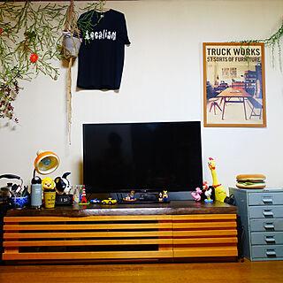 、テレビ台DIYに関するnicuruさんの実例写真