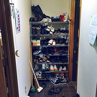 玄関/入り口/共用部分/共有スペース/靴の収納/靴箱のインテリア実例 - 2015-04-28 00:43:01