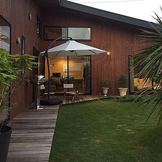 庭/DIY/ガーデン/植物/アウトドアリビング...などのインテリア実例 - 2017-10-28 10:33:55