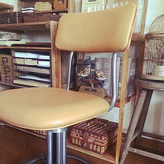 ベッド周り/レトロ椅子のインテリア実例 - 2014-07-15 11:21:48