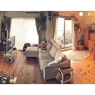 リビング/テレビとソファの位置/アドバイス下さい/神奈川県民/模様替え...などのインテリア実例 - 2015-09-09 11:33:24