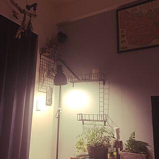 ドライフラワー/観葉植物/男前/照明/リビングのインテリア実例 - 2020-04-05 23:24:30
