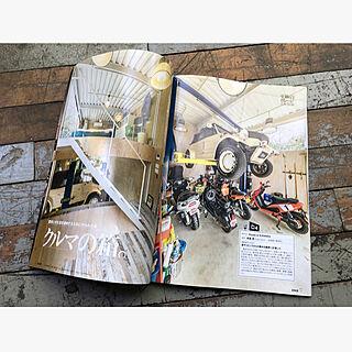 バイクのある暮らし/バイクを楽しむ家/ガレージのある家/古材/アンティークの床板...などのインテリア実例 - 2020-04-27 08:32:56